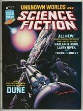 Unknown Worlds of Science Fiction #3 (May1975,Marvel) Whelan/BJones/Nino/etc VF-