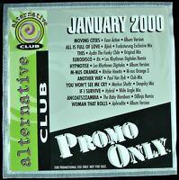 "PROMO ONLY ""ALTERNATIVE CLUB JANUARY 2000"" DJ PROMO CD COMPILATION BJORK *NEW*"