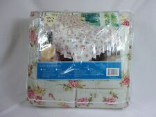 Plazatex Cotton/Polyester Floral Printed King Bed in A Bag Set 3072KCZ
