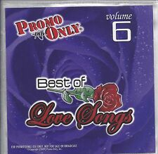 """PROMO ONLY- NEW! DVD 70s ~ 90s """"LOVE SONG VOL.6 """" MUSIC VIDEO"""