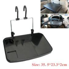 1PC Car Computer Stand Laptop Desk Car Tray Drink Rack Chair Back Shelf Bracket