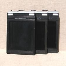3 Graflex 4x5 Riteway film holders