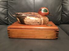 Duck Decoy Ducks Unlimited 1982 Limited Edition Signed Tom Taber Hersey Kyle