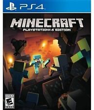 Ps4 Sony PlayStation 4 Game Minecraft US Boxed