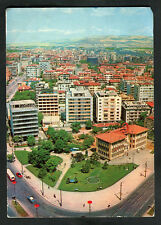 Posted C1960s: Bird's Eye View of Kizilay, Ankara, Turkey