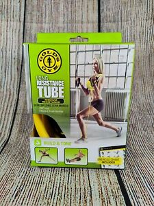 Long resistant tube by golds gym (brand new)