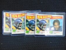 1975 TOPPS FB #209 1974 ALL-PRO LAWRENCE McCUTCHEON - O.J. SIMPSON
