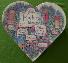 Susan Winget Mother's Day gift mom 8 votive lang candles holder heart box