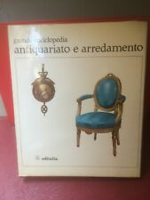 """Del Gaizo """"Grande enciclopedia antiquariato e arredamento"""" I° vol -Editalia 1967"""