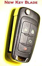 keyless remote start for Camaro Cruze new flip key transmitter control entyr FOB