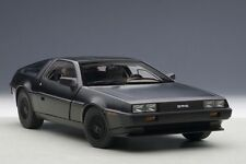 Autoart DELOREAN DMC-12 MATT BLACK 1:18*New!