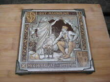 Victoriano Minton Moyr Smith Guy Mannering Waverley novelas 8 in (approx. 20.32 cm) Placa Azulejo
