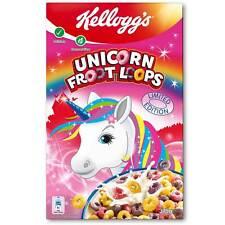 Kellogg's UNICORN Fruit Loops breakfast cereal- FREE SHIPPING