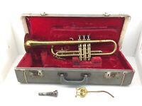 Vintage Academy Rudy Muck #631046 Trumpet w/ Original Case Plays Well