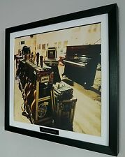 Oasis Framed Original Album Artwork-Limited Edition-Certificate-Metal Plaque