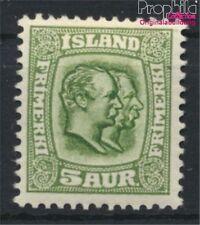Iceland 51 with hinge 1907 Christian IX., Frederik VIII. (8883170