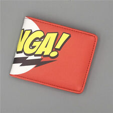 The Big Bang Theory TBBT Logo wallets Purse Red Leather New purse