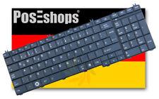 Orig. QWERTZ Tastatur Toshiba Satellite L650 L650D L655 L675 Series DE Neu Matt