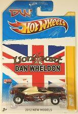 2012 Hot Wheels DAN WHELDON Lionheart DW-1 INDY CAR CHAMPION REAL RIDERS