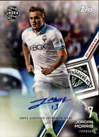 2018 Topps MLS Soccer Autograph Singles (Pick Your Cards)