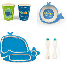 Wally the Whale Dish Set