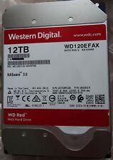 WD Red 12TB (WD120EFAX) 3,5 Zoll NAS Festplatte, fast neu (ca. 25 Std. gelaufen)