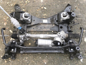 BMW G01 X3 G02 X4 M40D XDRIVE COMPLETE SUBFRAME & ELECTRIC STEERING RACK JW