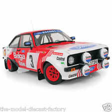 FORD ESCORT MK2 RALLY NO3 BELGA WRC 1:18 DIECAST MODEL COMPLETE WITH CERTIFICATE