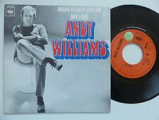 ANDY WILLIAMS Make it easy for me CBS 1990 Pressage France rrr