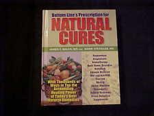 Bottom Line's Prescription for Natural Cures by James F. Balch, MD Mark Stengler