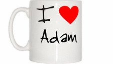 I Love Heart Adam Mug