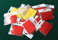 100pcs Poker Size Cut Cards, Fit Copag & Kem Wide Playing Cards 5 colors