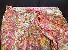 Victoria's Secret Pink Paisley Pajama Bottoms XS