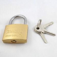 CANDADOS CON 3 llaves color: Gold GR 37x56x14mm/82g con soporte acero NUEVO