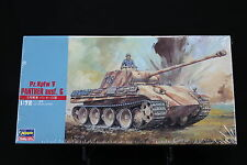 XO061 HASEGAWA 1/72 maquette tank char 31109 German Army Pz.Kpfw V Panther ausf.