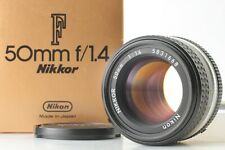 [MINT in BOX] Nikon Ai-s Nikkor 50mm f/1.4 AIS MF Lens from Japan S/N 583***