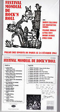 CD JOHNNY HALLYDAY ALBUM FESTIVAL MONDIAL DE ROCK'N'ROLL 24 FEVRIER 1961 NEUF