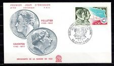 France - 1970 150 years discovery of kinine -  Mi. 1703 FDC (historique) (2)
