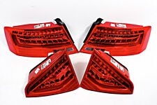 LED Tail Lights Rear Lamps Full SET Fits Audi A5 S5 RS5 2 Door Facelift 12- OEM