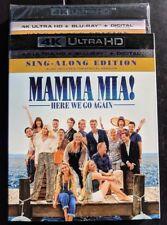 NEW Mama Mia Here we go again 4k/UHD ULTRA HD & Blu-ray NO DIGITAL BLUERAY movie