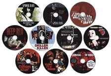 Horror Film/Movie DVD Collection: Crimson Altar, Driller Killer, Spider Baby etc