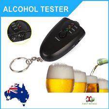 Alcohol Breath Tester Test Breathalyser Analyzer Torch Flashlight Key Ring Chain