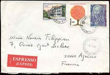 ITALIA 1987 Express Coperchio per la Francia #C 26090