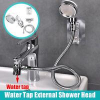 Duschkopf Handbrause für Wasserhahn Waschbecken Wasserspar Sprinkler Bad Duschen