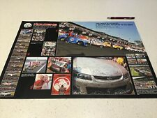 RACING PERFORMANCE POSTER HOLDEN PETER BROCK MOTOR ENGINE 1 CAR V8 COMMODORE 1