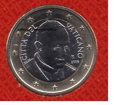 VATICAN 2016 - 1 Euro qualité BU - Pape FRANCOIS Sous capsule numismatique