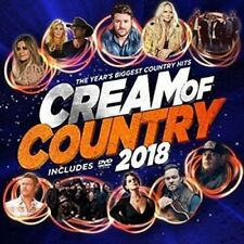 Various Artists - Cream Of Country 2018 / Various [New CD] With DVD, Australia -