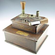 Antique Anderson COMPUTING CHEESE CUTTER Co. Store Jump Spark Cigar Lighter