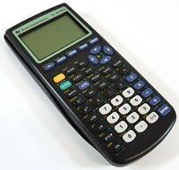 Texas Instruments TI-83 Plus Graphing Calculator Black With Cover A936