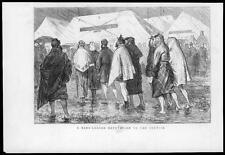 1875-Consejo de impresión Antiguo piernas desnudas formé Cabos carpas Rain (87)